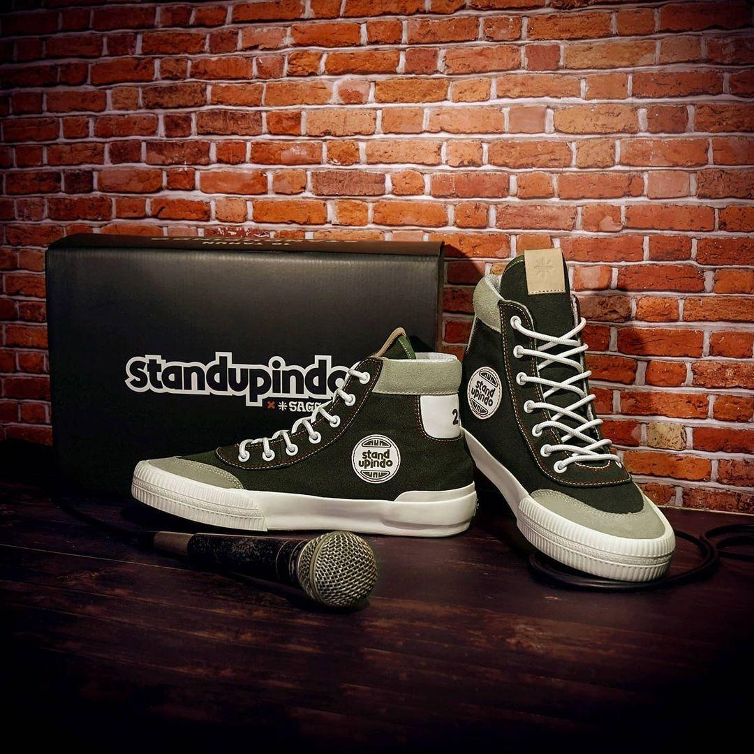 Standup Indonesia X Sage Footwear